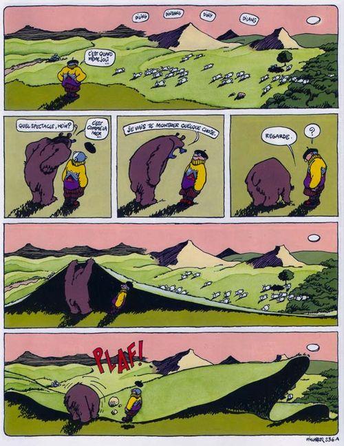 L'ours à l'origine de la création du Piémont