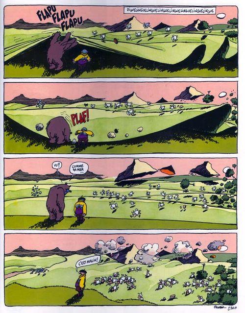 L'ours à l'origine des estives