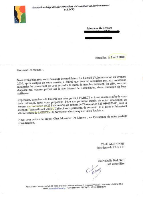 modele lettre candidature conseil administration association