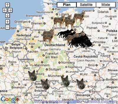 Le Loup en Allemagne