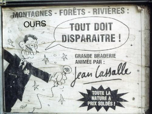 Jean Lassalle : tout doit disparaître