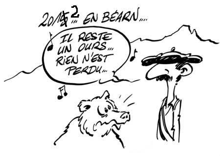 2012: il reste un ours en Béarn, rien n'est perdu !