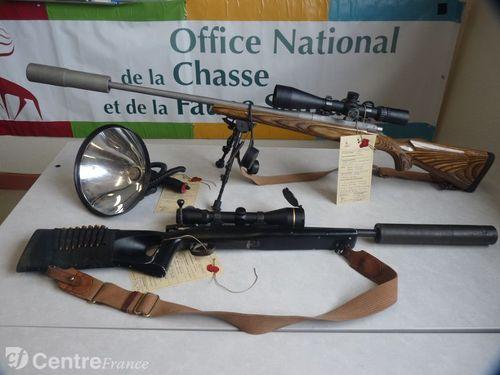 Braconnage, braconniers, tirs sur animaux domestiques ou d'élevage, tirs sur véhicules ou maisons d'habitation, menaces, conflits à la chasse