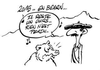 2015 en Béarn, il reste un ours, rien n'est perdu!