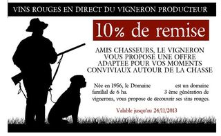 Remise-vins-chasseurs