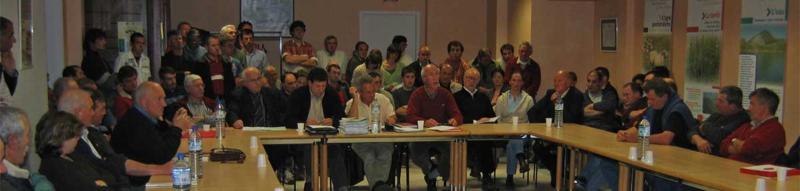 Réunion à l'IPHB, Institution patrimoniale du Haut-Béarn
