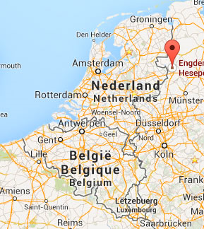 Carte Allemagne Et Hollande.Allemagne Un Loup Pris En Photo A La Frontiere Des Pays Bas