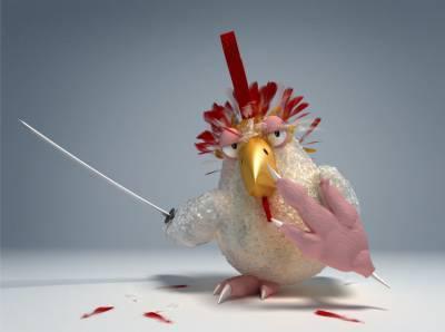 vulgaires volailles ou poulets tueurs?