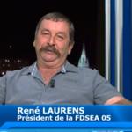 René Laurans FDSEA loups armée
