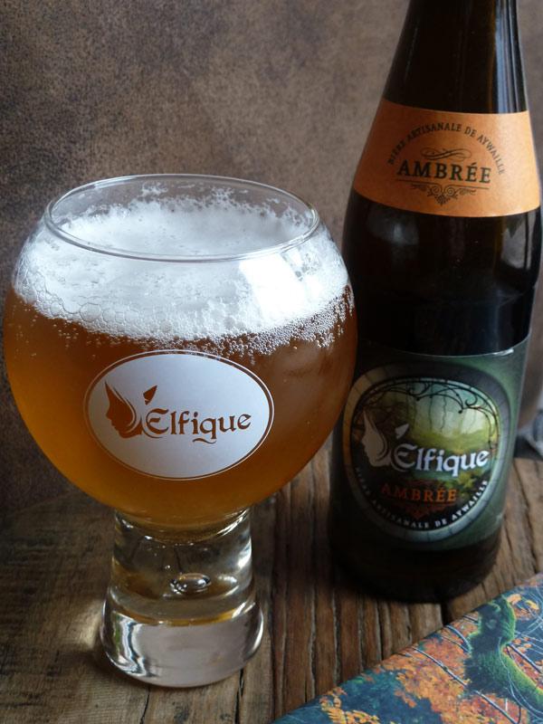 Bière d'Aywaille Elfique ambrée