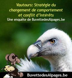 Vautours: Stratégie du changement de comportement et conflit d'intérêts