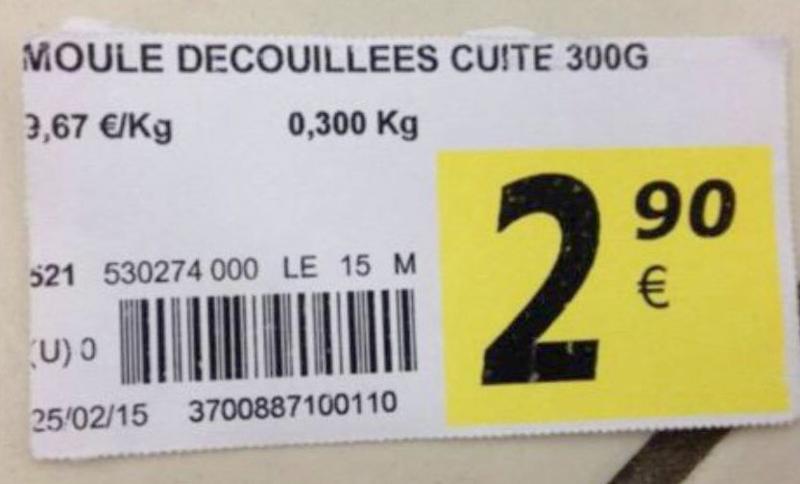 Moule-decouillees