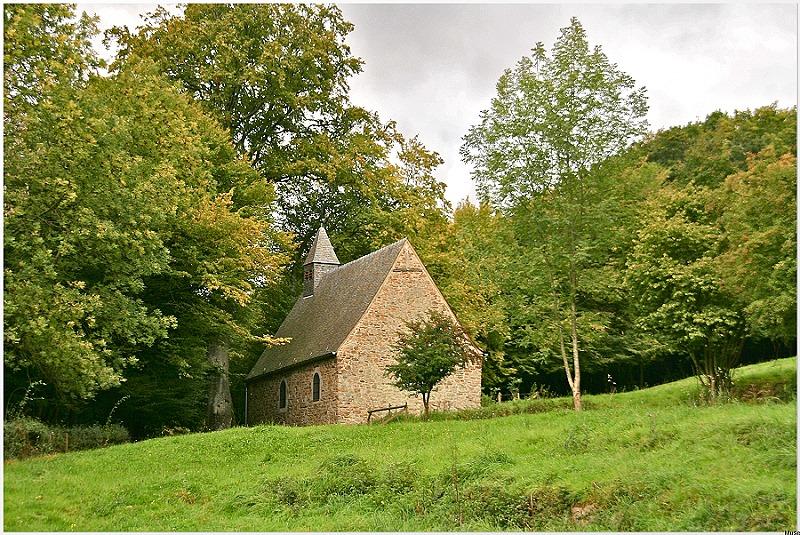 Chapelle sainte-anne pouhons harze
